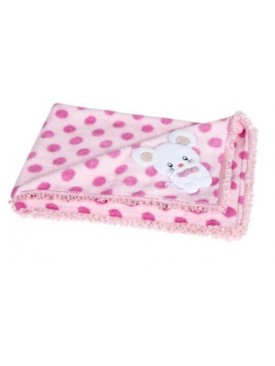 For Pets Only - Dotty topomio fuxia dekentje
