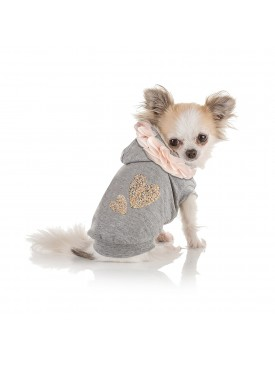 I love my dog Baby heart vestje