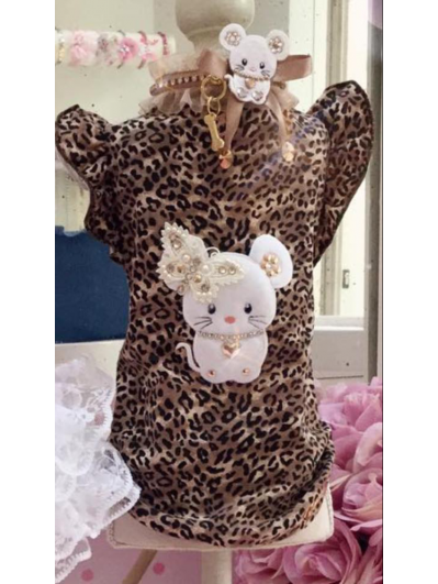 For Pets Only - Leopard shirt
