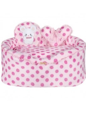 For Pets Only - Dotty Topomio sofa fuxia